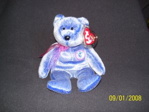 TY 'Periwinkle' Beanie Baby