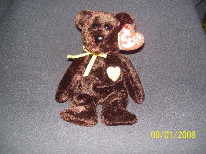 TY '2003 Signature Bear' Beanie Baby