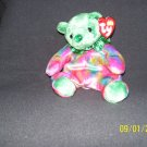 TY Birthday Bear 'May, Emerald'
