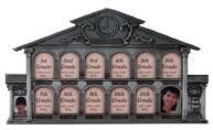 Pewter House Picture Frame