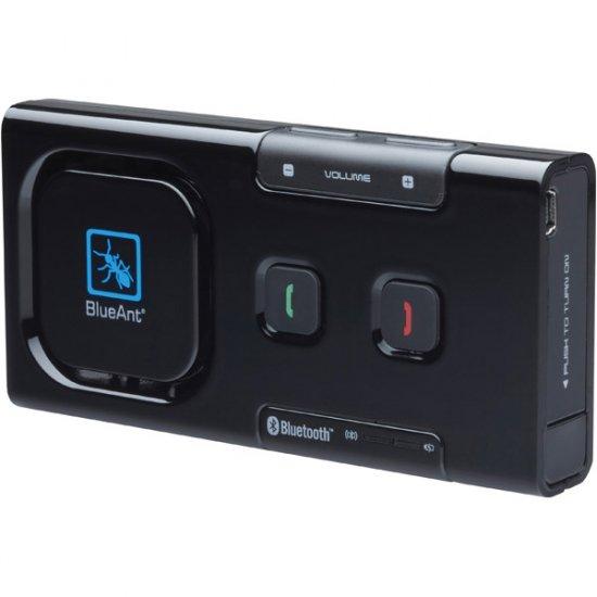BlueAnt Black Gloss Supertooth Light Compact Bluetooth Speakerphone