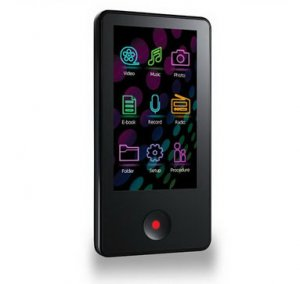 Teclast T50 S:Flo 4GB 16:9 Multi Touch Screen MP3 And Video Player
