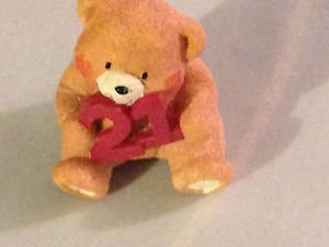"Paws for Thought ""21"" Collectibles Bear Figurine"