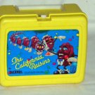 The California Raisins Plastic Lunch Box & Thermos