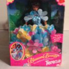 "Blossom Beauty Teresa  Doll ""Dress magically becomes a floral bouquet!"" Mattel"