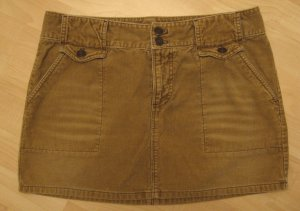 Brown Corduroy 4 Pocket Skirt - American Eagle Outfitters (Size 6, Medium)