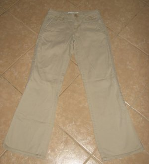 Light Tan Flare 5 Pocket Khaki's - Aeropostale (Size Extra Small, 00 Regular)