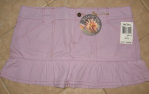 Trendy Light Purple 4 Pocket Mini Skirt with Frilled Base - Paris Blues (Size 15) New With Tags