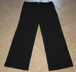 """Nice Black 2 Pocket Career Pants with 37"""" Inseam - Space Girlz (Size 19 x 37"""" Inseam)"""