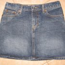 Dark Denim Blue Jean 5 Pocket Mini Skirt - Roxy (Size 1)
