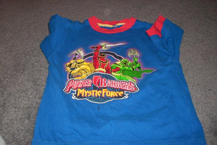 Boy's Power Ranger Tee-shirt size size 7/8 med