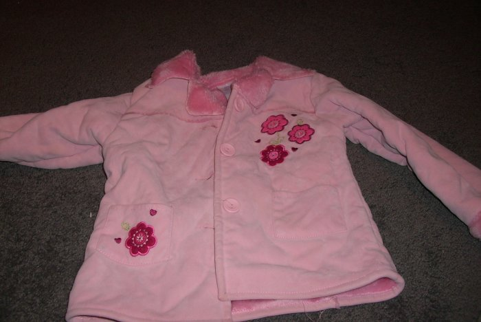 Toddlers Winter Coat Pink size 4T