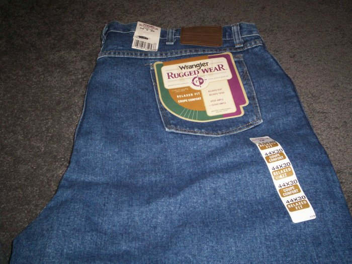 Wrangler Rugged Wear Men's Jeans NWT
