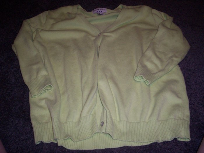 Women's Sweater Cardigan Covington size L
