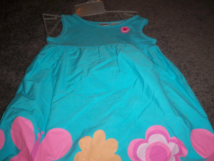 Girl's Blue Dress by Kid Connections size 4T