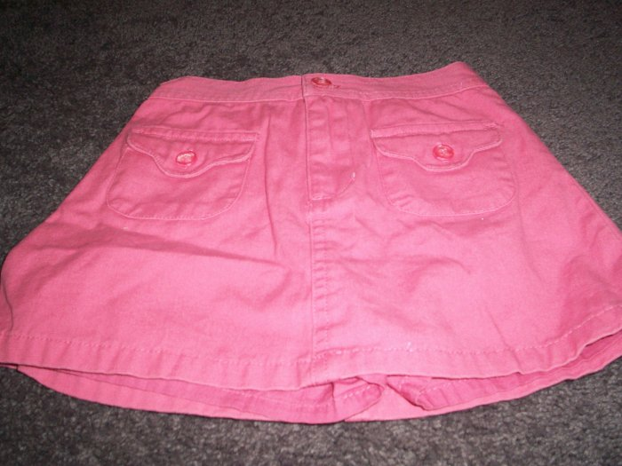 A  pair of Peach Faded Glory Skorts 3T