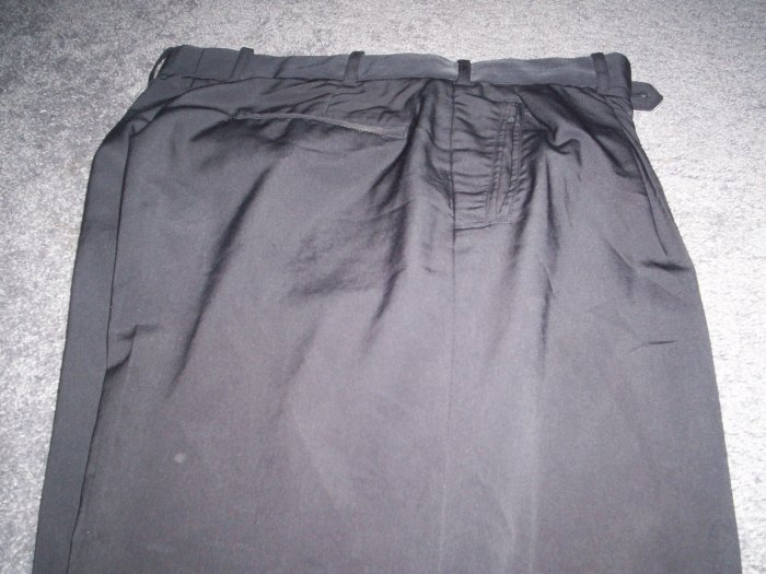 Men's Black Pronti Italian Dress Slacks size 34