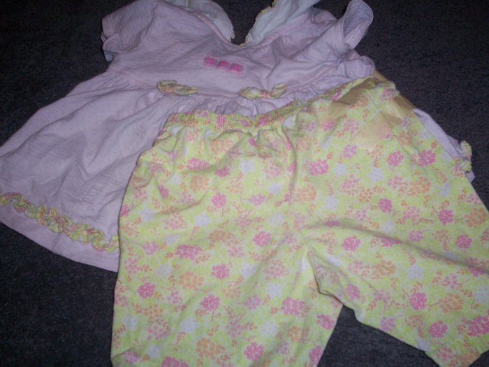 Baby A little Angle Two Piece Outfit size 12 m