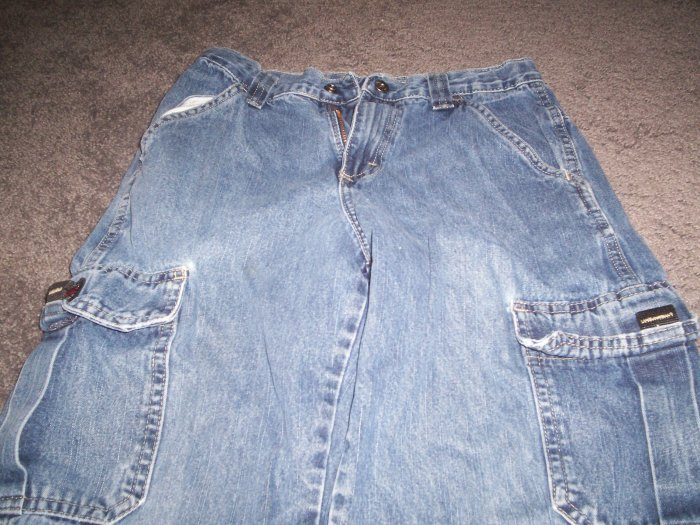 Boy's Blue WRG Jeans Co Carpenter Style size 12 Reg