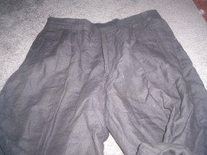 Men's Clairborne Black Dress slacks woven in Italy size 33 x 32