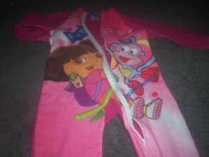 One Piece 5T Dora The Explorer Sleepers by Nick Jr