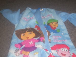 One Piece 4T Dora The Explorer Sleeper by Nick Jr