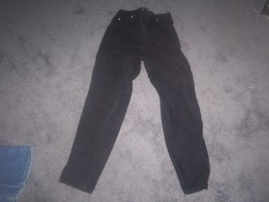 Women's Black Tappered Leg Size 8 Jordache Jeans