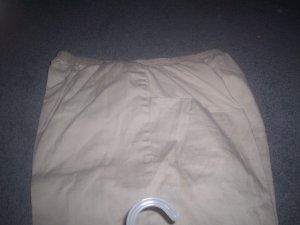Women's Medium Khaki Maternity Pants by B. Sport Maternity