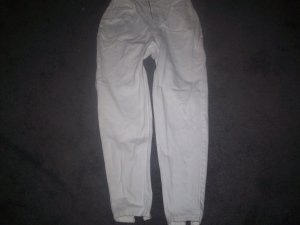 Women's White Tappered Leg Size 9/10 Jordache Jeans