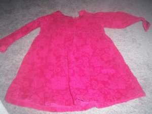 Girl's 3T Red Dress Old Navy