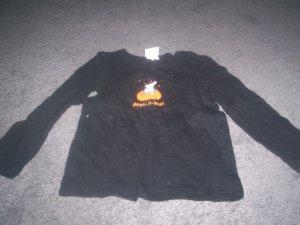 Girl's 3T Long Sleeve Halloween Top Black