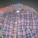 6 Boy's Plaid Shirts