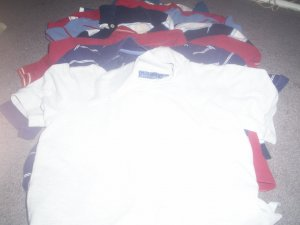 7 Boy's Polo Style Shirts