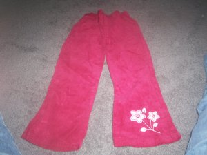 Girl's Size 4T Maroon Cords
