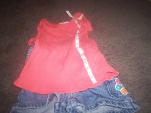 Girl's Two Piece Short Set Size 4T by Sonoma Lifestyle