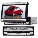 7 Inch in dash TFT LCD Monitor Widescreen with DVD Player