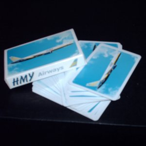 HMY Airways Deck of Cards Canadian Harmony Airline Carrier Boeing 757