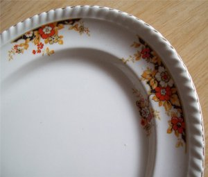 Johnson Bros. Old English Floral Oval Serving Platter 12 inch