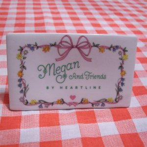 Megan and Friends by Heartline Store Display Sign Figurine