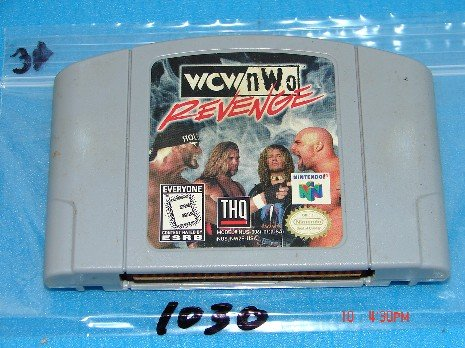 wcw nwo revenge Nintendo 64 Game Cartridge