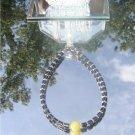 Hematite Calcite Anklet  Bracelet   #1022