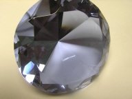 Tanzanite Crystal Paperweight 100mm