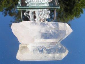 Natural Quartz Crystal 3 1/2 inches Clear