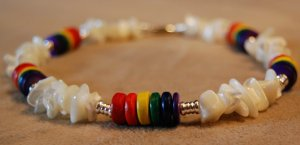 Rainbow and Shell Choker