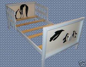 Wooden Penguin Toddler Bed