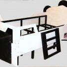New Custom Wood Space Shuttle Spaceship Twin Bed