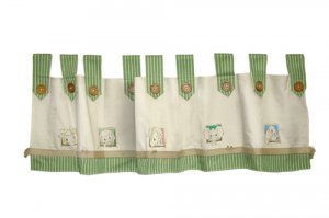 Zootles Window Valance for Baby/Kids Jungle Theme Bedroom