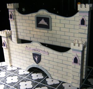 Girls Fairy Princess Castle Bed Twin Bed and Full Size Bed