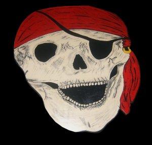 Pirate Decor Skull Table Skull Furniture Kids Table
