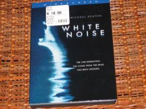 White Noise DVD Michael Keaton Mint!